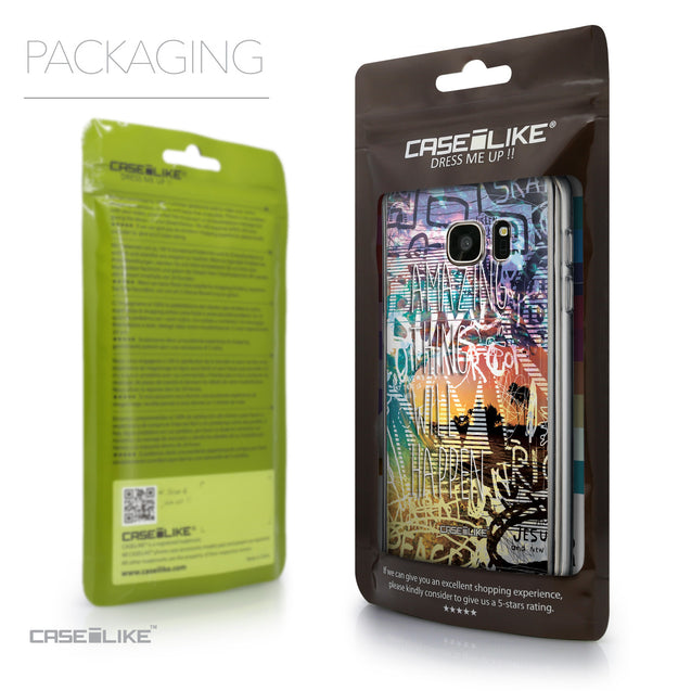 Packaging - CASEiLIKE Samsung Galaxy S7 back cover Graffiti 2729