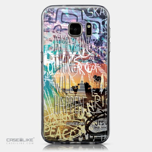 CASEiLIKE Samsung Galaxy S7 back cover Graffiti 2729