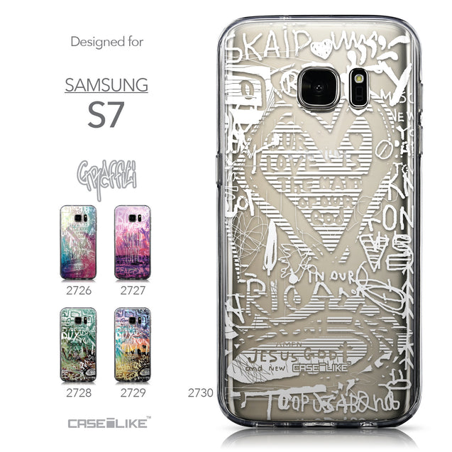 Collection - CASEiLIKE Samsung Galaxy S7 back cover Graffiti 2730