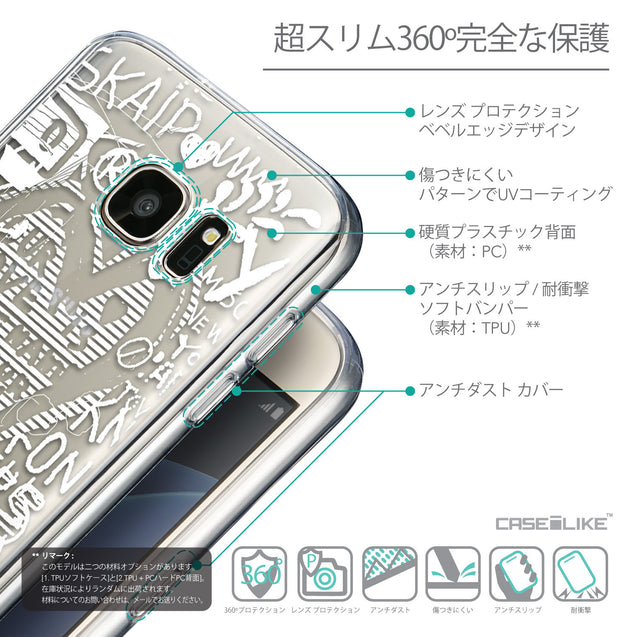 Details in Japanese - CASEiLIKE Samsung Galaxy S7 back cover Graffiti 2730
