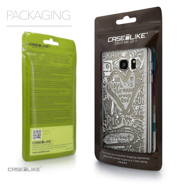 Packaging - CASEiLIKE Samsung Galaxy S7 back cover Graffiti 2730