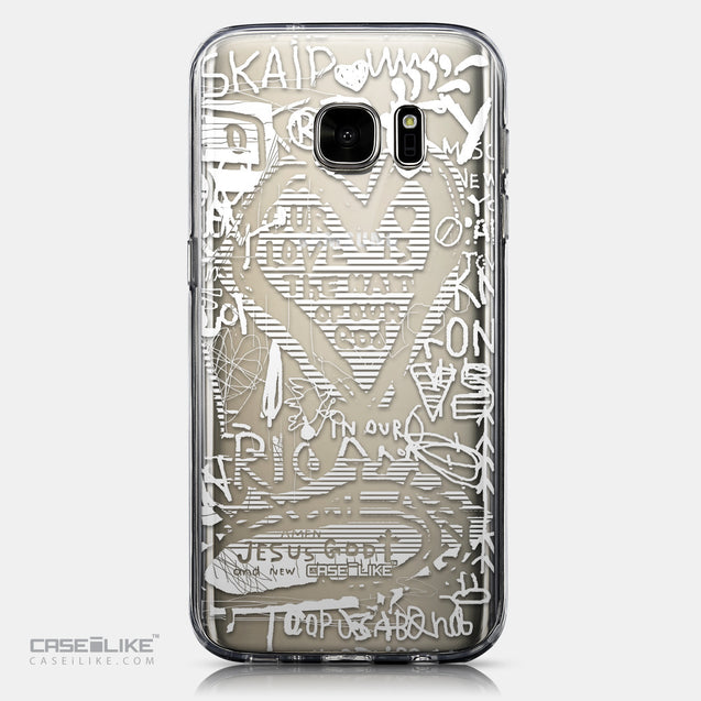 CASEiLIKE Samsung Galaxy S7 back cover Graffiti 2730