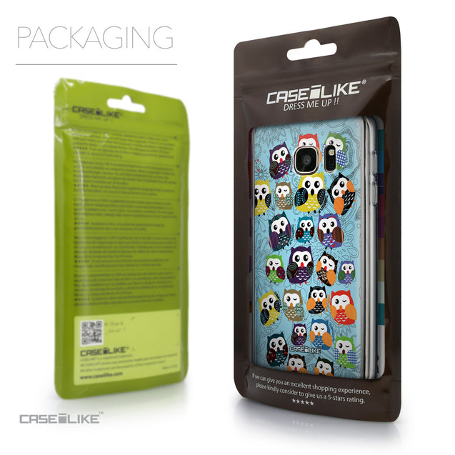 Packaging - CASEiLIKE Samsung Galaxy S7 back cover Owl Graphic Design 3312