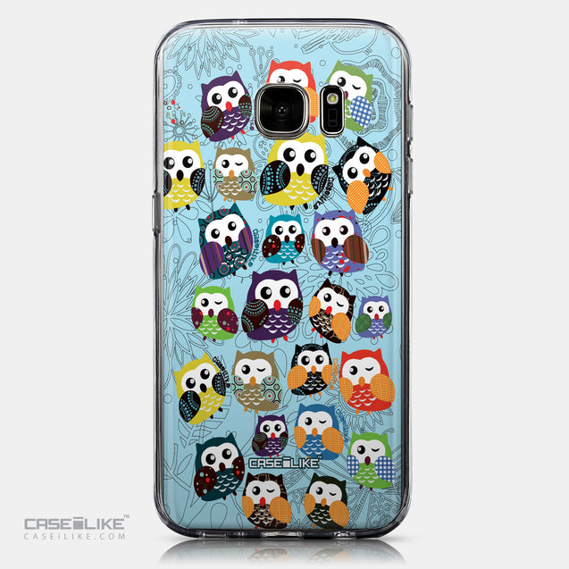 CASEiLIKE Samsung Galaxy S7 back cover Owl Graphic Design 3312