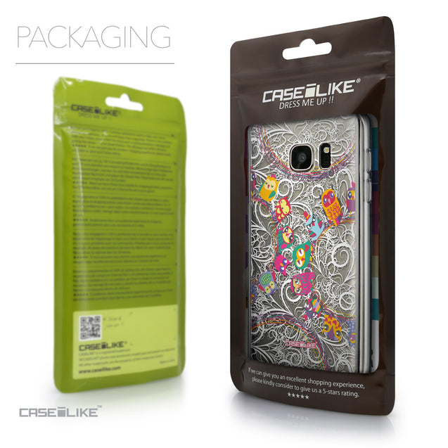 Packaging - CASEiLIKE Samsung Galaxy S7 back cover Owl Graphic Design 3316