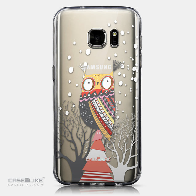 CASEiLIKE Samsung Galaxy S7 back cover Owl Graphic Design 3317
