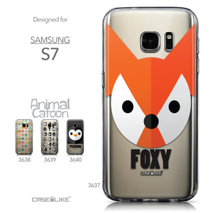Collection - CASEiLIKE Samsung Galaxy S7 back cover Animal Cartoon 3637