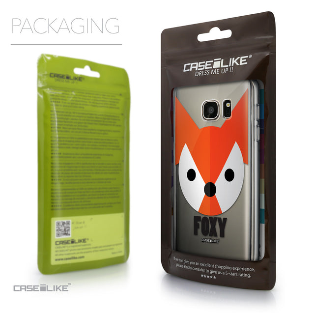 Packaging - CASEiLIKE Samsung Galaxy S7 back cover Animal Cartoon 3637
