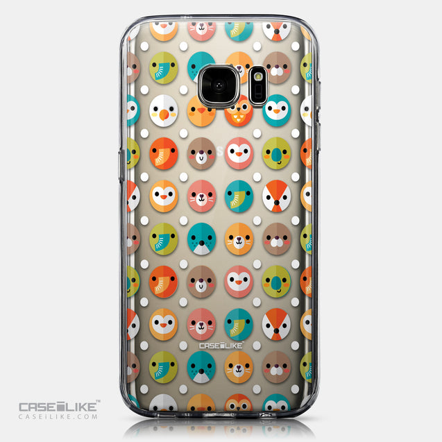CASEiLIKE Samsung Galaxy S7 back cover Animal Cartoon 3638