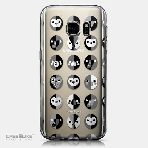 CASEiLIKE Samsung Galaxy S7 back cover Animal Cartoon 3639