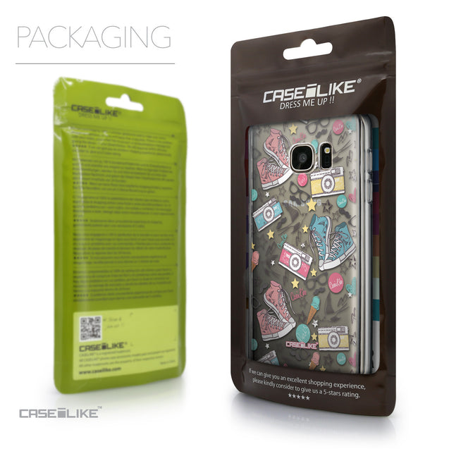 Packaging - CASEiLIKE Samsung Galaxy S7 back cover Paris Holiday 3906