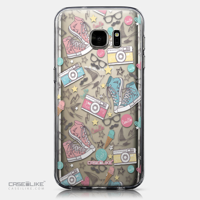 CASEiLIKE Samsung Galaxy S7 back cover Paris Holiday 3906