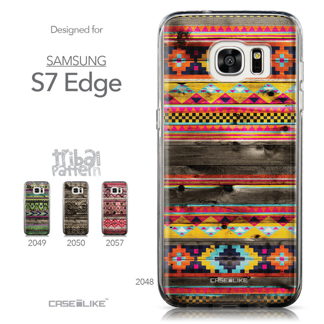Collection - CASEiLIKE Samsung Galaxy S7 Edge back cover Indian Tribal Theme Pattern 2048
