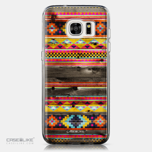 CASEiLIKE Samsung Galaxy S7 Edge back cover Indian Tribal Theme Pattern 2048