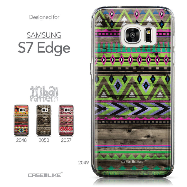 Collection - CASEiLIKE Samsung Galaxy S7 Edge back cover Indian Tribal Theme Pattern 2049