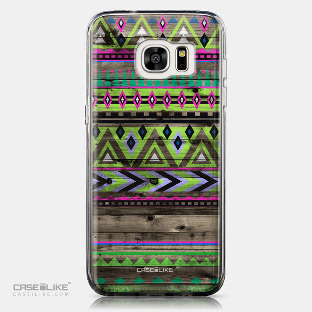 CASEiLIKE Samsung Galaxy S7 Edge back cover Indian Tribal Theme Pattern 2049