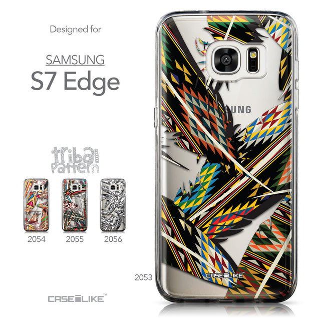 Collection - CASEiLIKE Samsung Galaxy S7 Edge back cover Indian Tribal Theme Pattern 2053