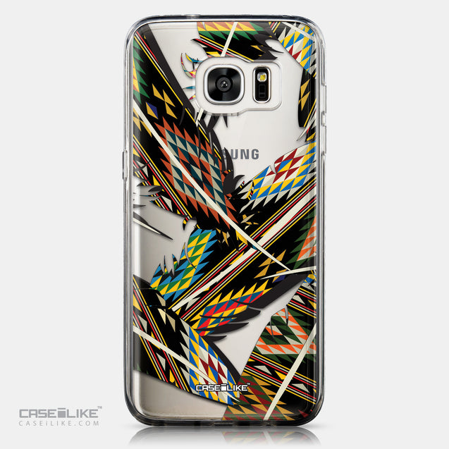 CASEiLIKE Samsung Galaxy S7 Edge back cover Indian Tribal Theme Pattern 2053