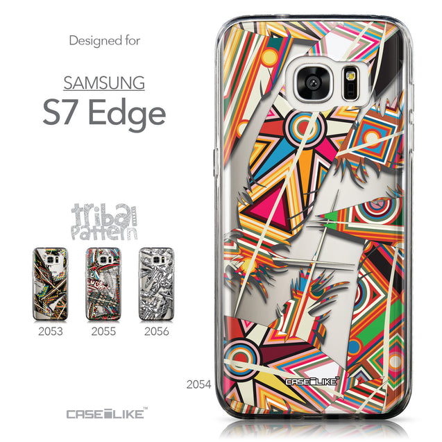 Collection - CASEiLIKE Samsung Galaxy S7 Edge back cover Indian Tribal Theme Pattern 2054