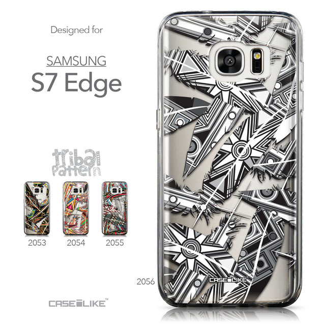 Collection - CASEiLIKE Samsung Galaxy S7 Edge back cover Indian Tribal Theme Pattern 2056
