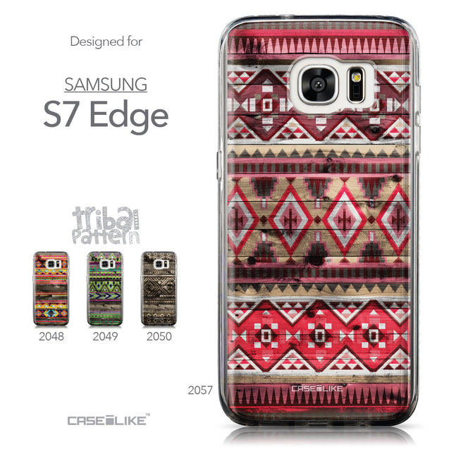 Collection - CASEiLIKE Samsung Galaxy S7 Edge back cover Indian Tribal Theme Pattern 2057