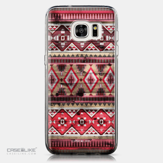 CASEiLIKE Samsung Galaxy S7 Edge back cover Indian Tribal Theme Pattern 2057
