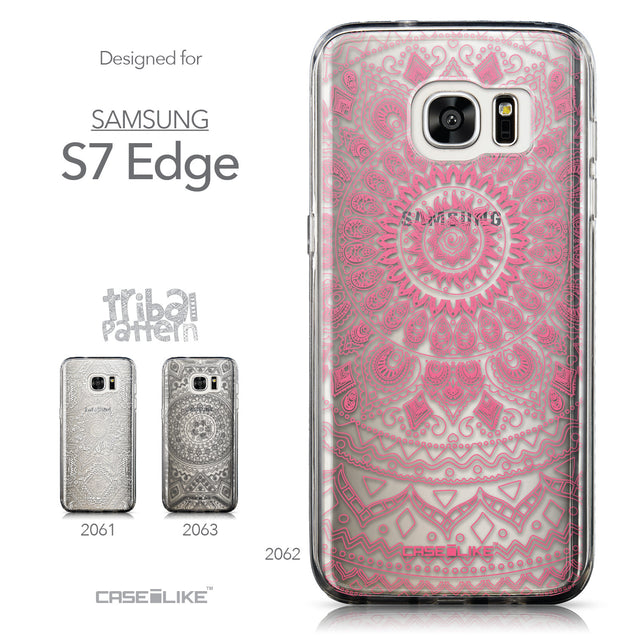 Collection - CASEiLIKE Samsung Galaxy S7 Edge back cover Indian Line Art 2062