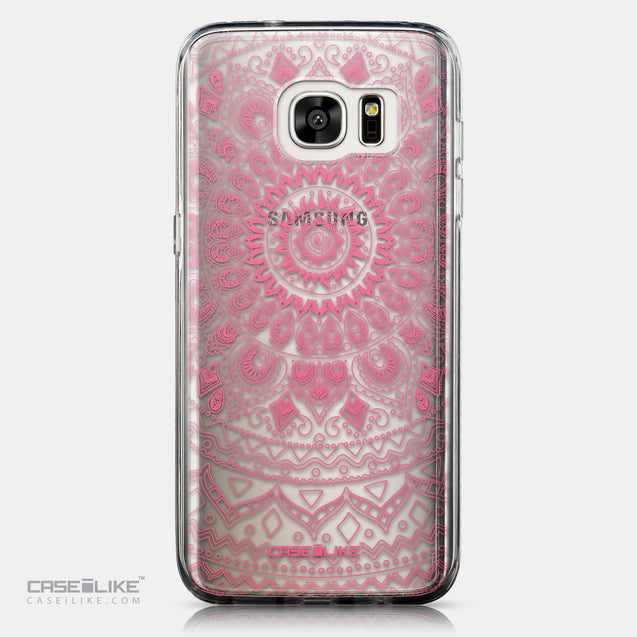 CASEiLIKE Samsung Galaxy S7 Edge back cover Indian Line Art 2062
