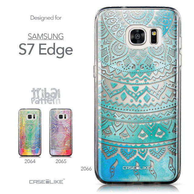 Collection - CASEiLIKE Samsung Galaxy S7 Edge back cover Indian Line Art 2066