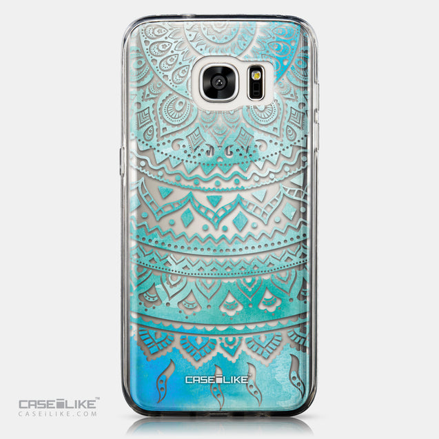 CASEiLIKE Samsung Galaxy S7 Edge back cover Indian Line Art 2066
