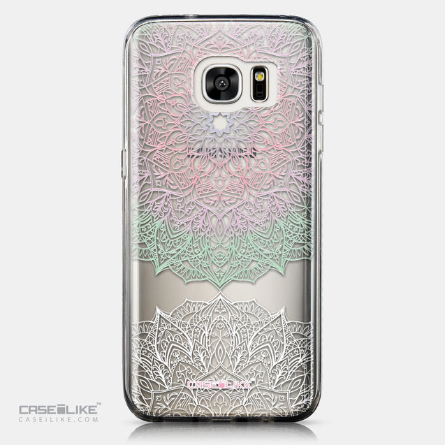 CASEiLIKE Samsung Galaxy S7 Edge back cover Mandala Art 2092