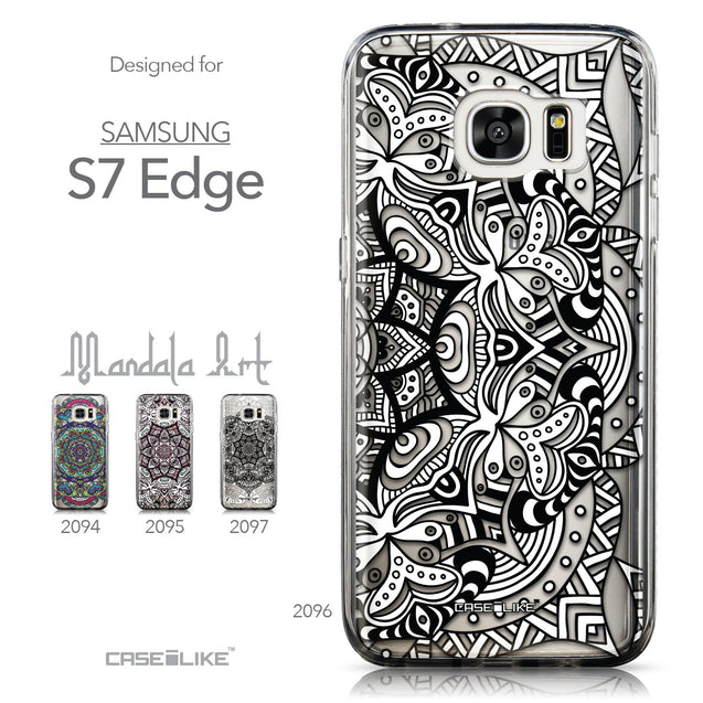 Collection - CASEiLIKE Samsung Galaxy S7 Edge back cover Mandala Art 2096