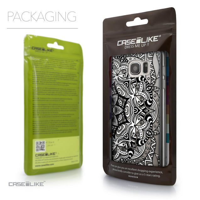 Packaging - CASEiLIKE Samsung Galaxy S7 Edge back cover Mandala Art 2096