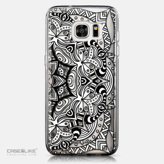 CASEiLIKE Samsung Galaxy S7 Edge back cover Mandala Art 2096