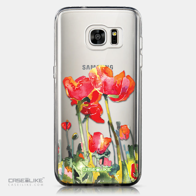 CASEiLIKE Samsung Galaxy S7 Edge back cover Watercolor Floral 2230