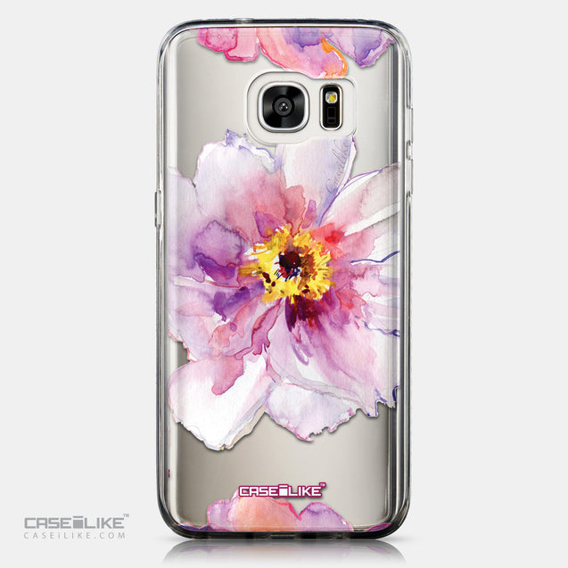 CASEiLIKE Samsung Galaxy S7 Edge back cover Watercolor Floral 2231