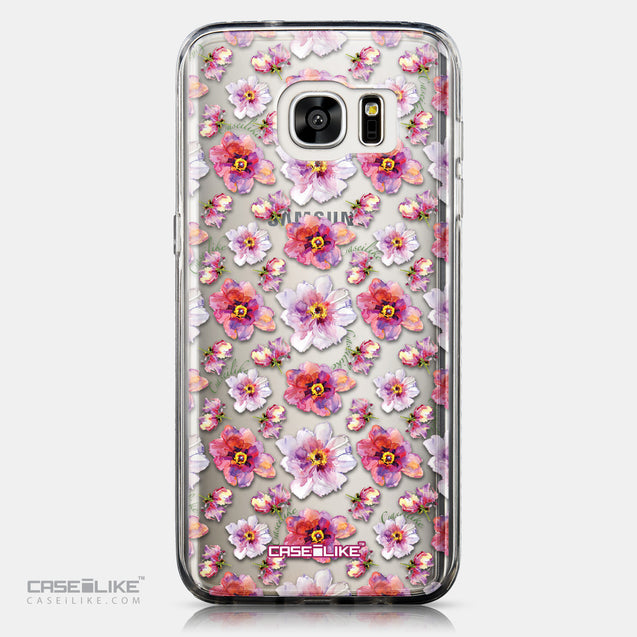 CASEiLIKE Samsung Galaxy S7 Edge back cover Watercolor Floral 2232
