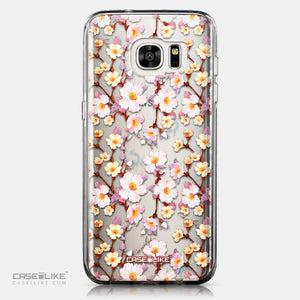 CASEiLIKE Samsung Galaxy S7 Edge back cover Watercolor Floral 2236