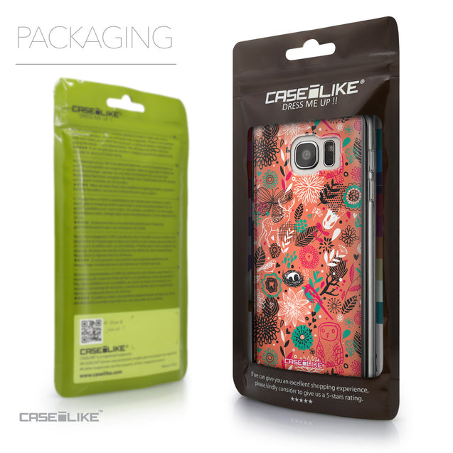 Packaging - CASEiLIKE Samsung Galaxy S7 Edge back cover Spring Forest Pink 2242