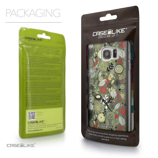 Packaging - CASEiLIKE Samsung Galaxy S7 Edge back cover Spring Forest Gray 2243