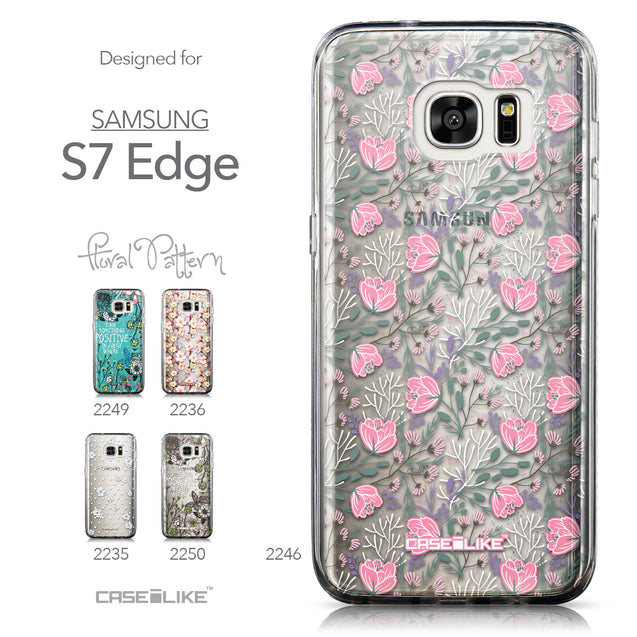 Collection - CASEiLIKE Samsung Galaxy S7 Edge back cover Flowers Herbs 2246