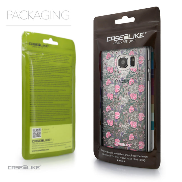 Packaging - CASEiLIKE Samsung Galaxy S7 Edge back cover Flowers Herbs 2246