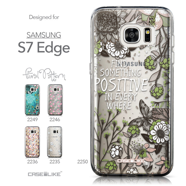 Collection - CASEiLIKE Samsung Galaxy S7 Edge back cover Blooming Flowers 2250