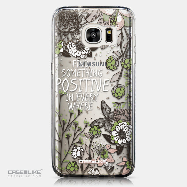 CASEiLIKE Samsung Galaxy S7 Edge back cover Blooming Flowers 2250