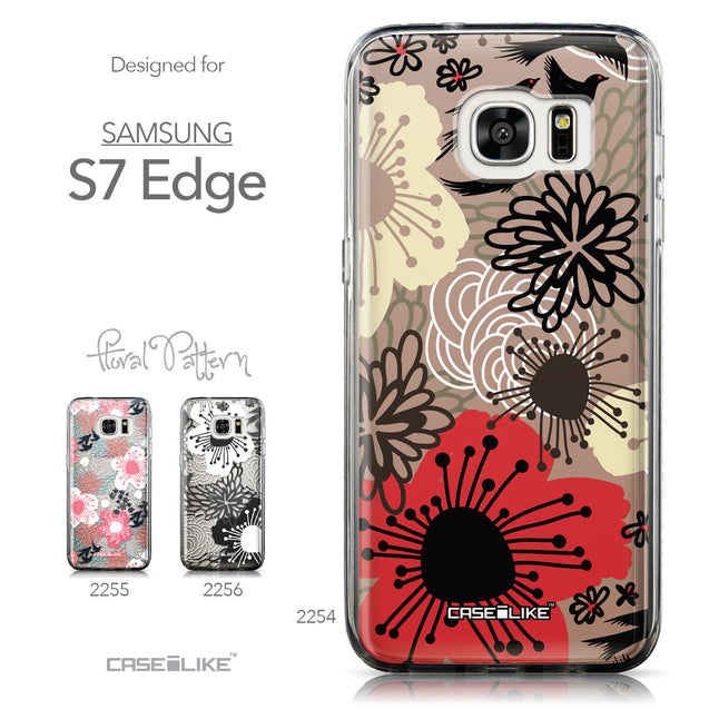 Collection - CASEiLIKE Samsung Galaxy S7 Edge back cover Japanese Floral 2254