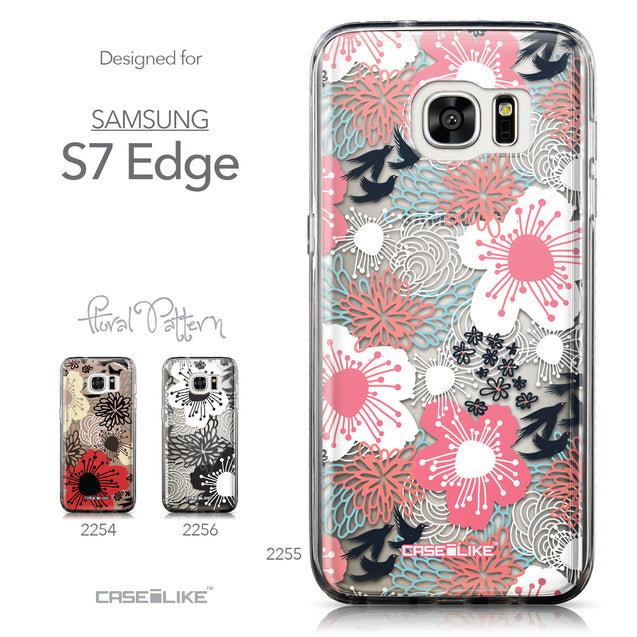 Collection - CASEiLIKE Samsung Galaxy S7 Edge back cover Japanese Floral 2255