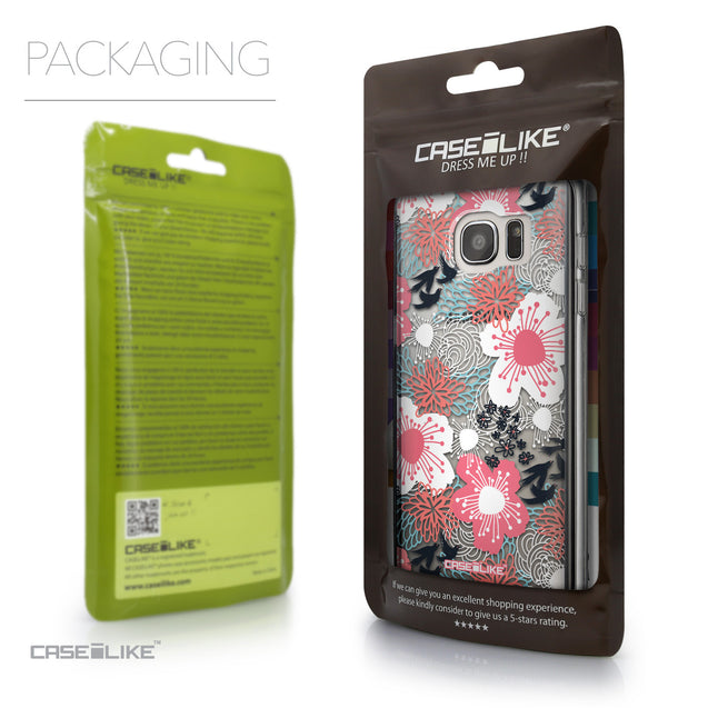 Packaging - CASEiLIKE Samsung Galaxy S7 Edge back cover Japanese Floral 2255