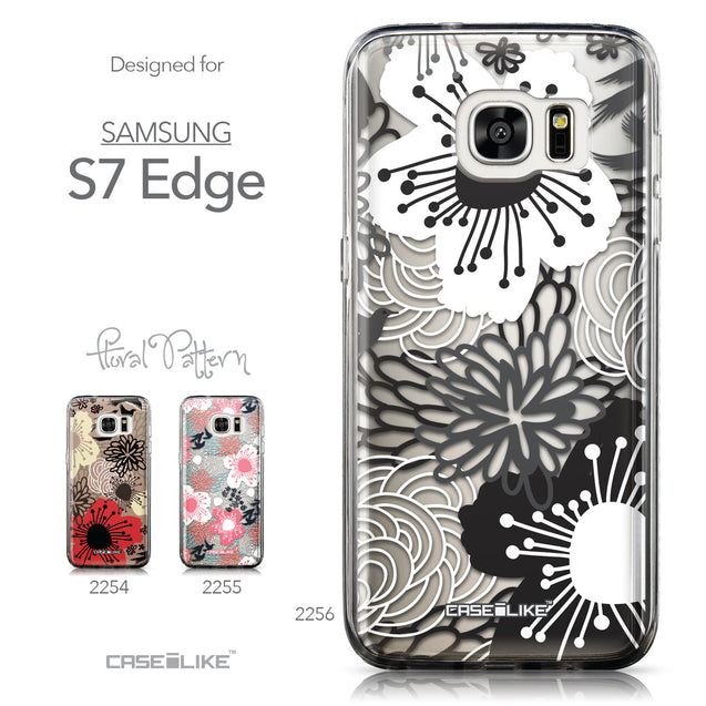 Collection - CASEiLIKE Samsung Galaxy S7 Edge back cover Japanese Floral 2256