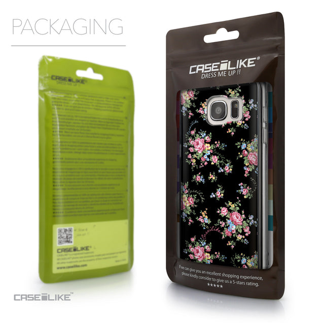 Packaging - CASEiLIKE Samsung Galaxy S7 Edge back cover Floral Rose Classic 2261