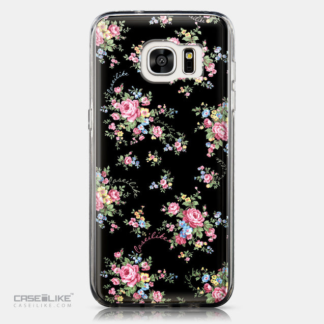 CASEiLIKE Samsung Galaxy S7 Edge back cover Floral Rose Classic 2261
